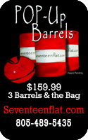 Seventeenflat.com Pop-Up Barrels for Horses