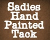 Sadies Hand Painted Tack